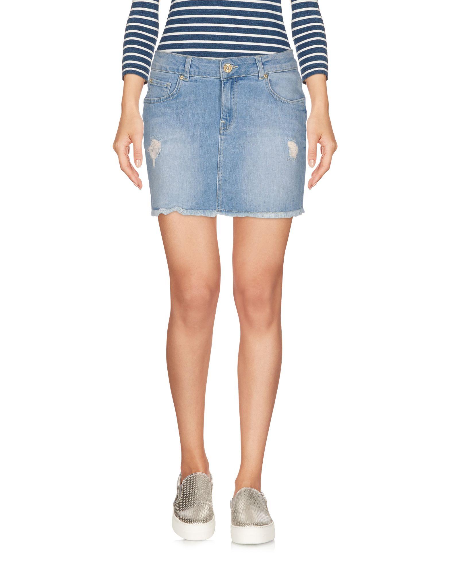 SUPERTRASH Джинсовая юбка supertrash мини юбка