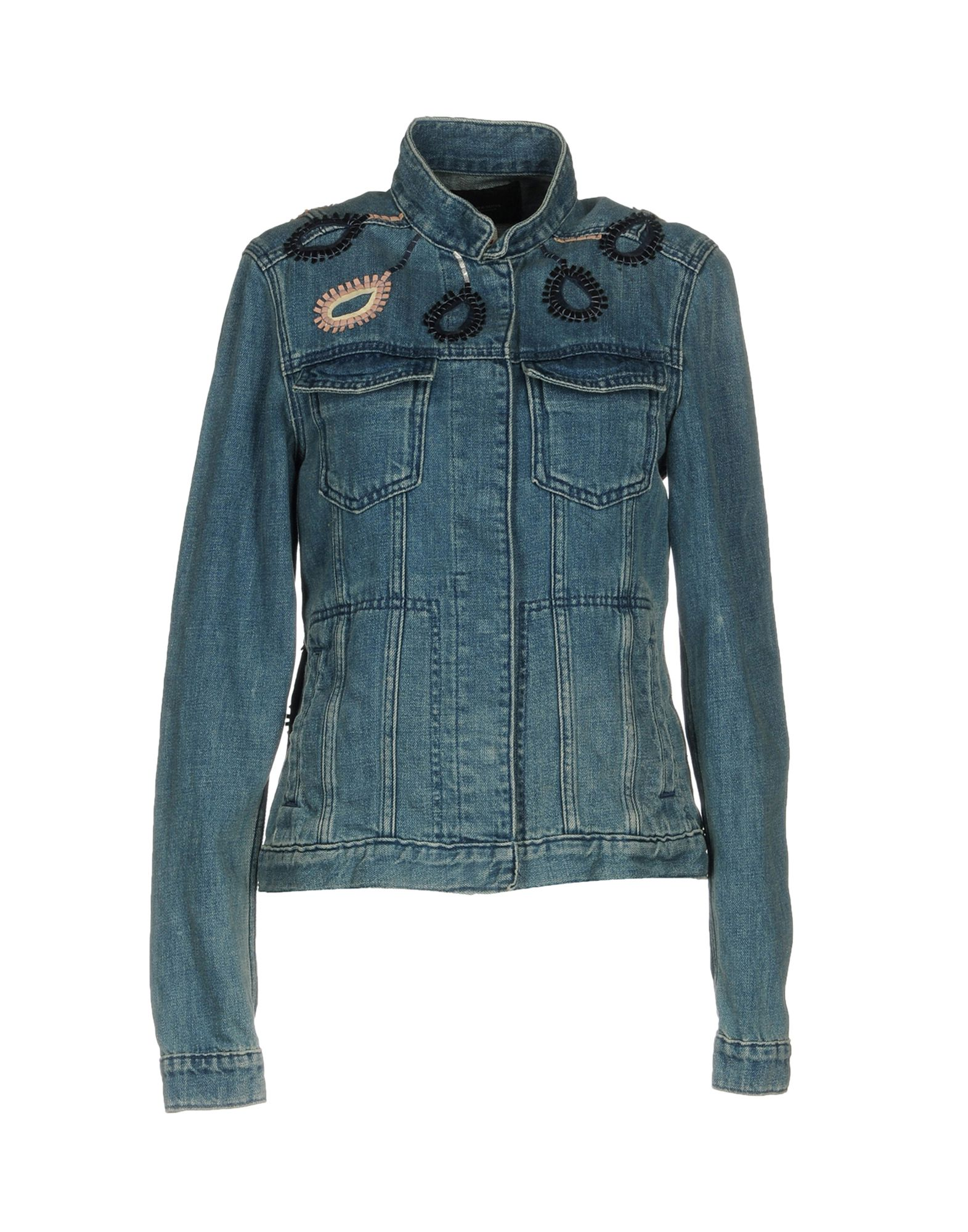 SCOTCH & SODA Джинсовая верхняя одежда reiko джинсовая верхняя одежда