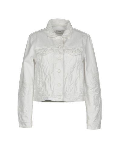 CLOSED Damen Jeansjacke/-mantel Weiß Größe XS 100% Baumwolle