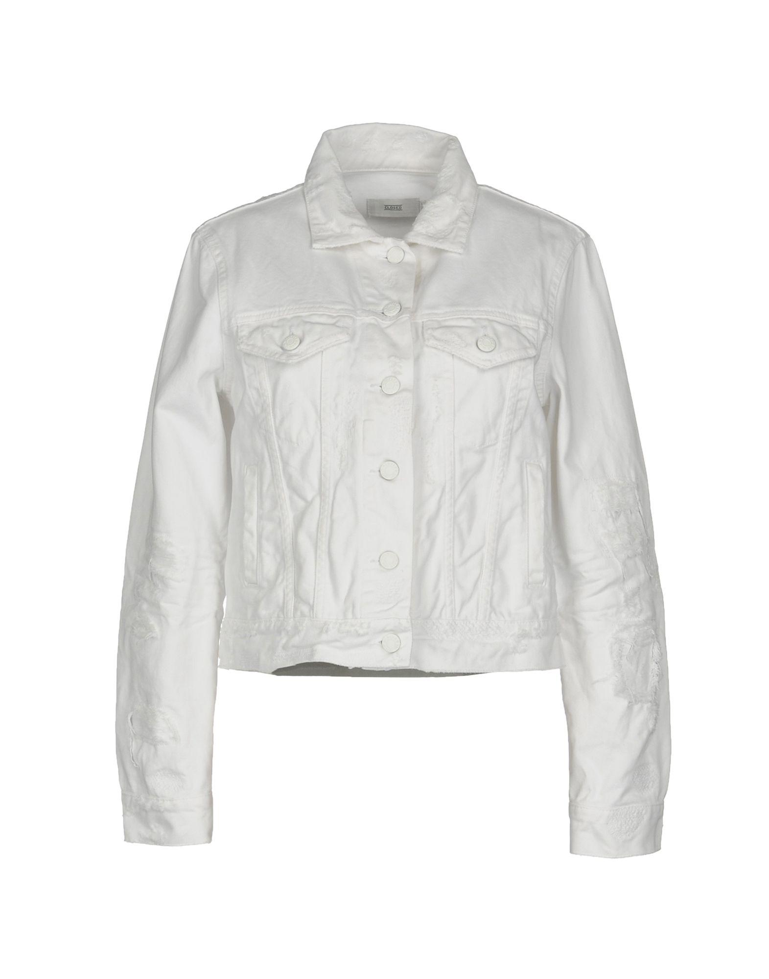 CLOSED Джинсовая верхняя одежда брендовая одежда