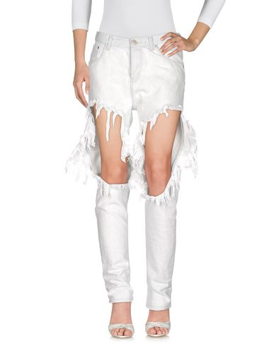 Фото - Джинсовые брюки от GLAMOROUS цвет слоновая кость