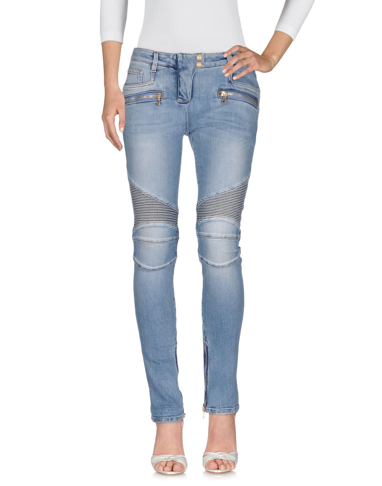 PIERRE BALMAIN Джинсовые брюки женские брюки лэйт светлый размер 50