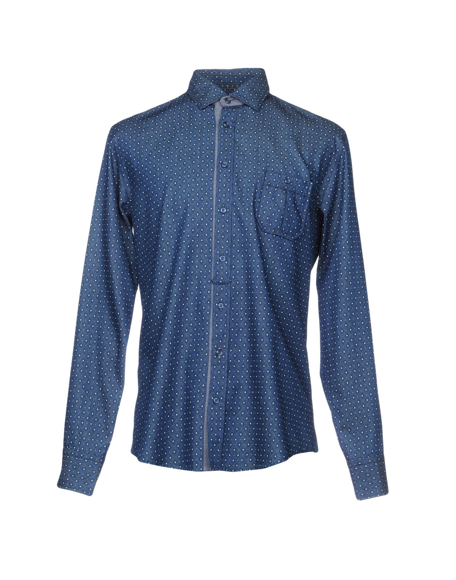 BOSS ORANGE Джинсовая рубашка