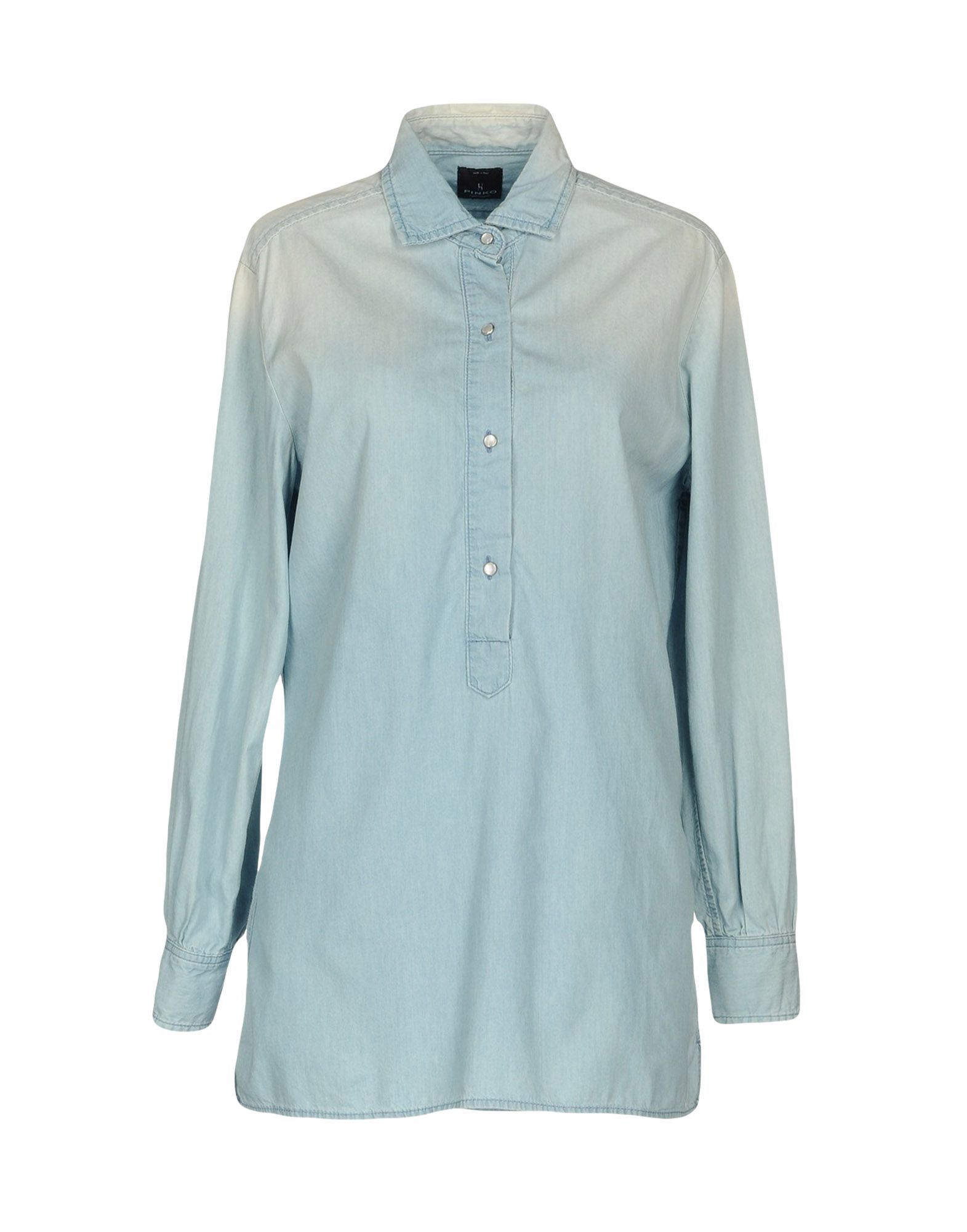 где купить PINKO UNIQUENESS Джинсовая рубашка по лучшей цене