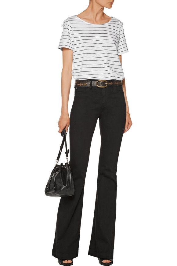 Janis mid-rise bootcut jeans   AG Jeans   Sale up to 70% off   THE OUTNET