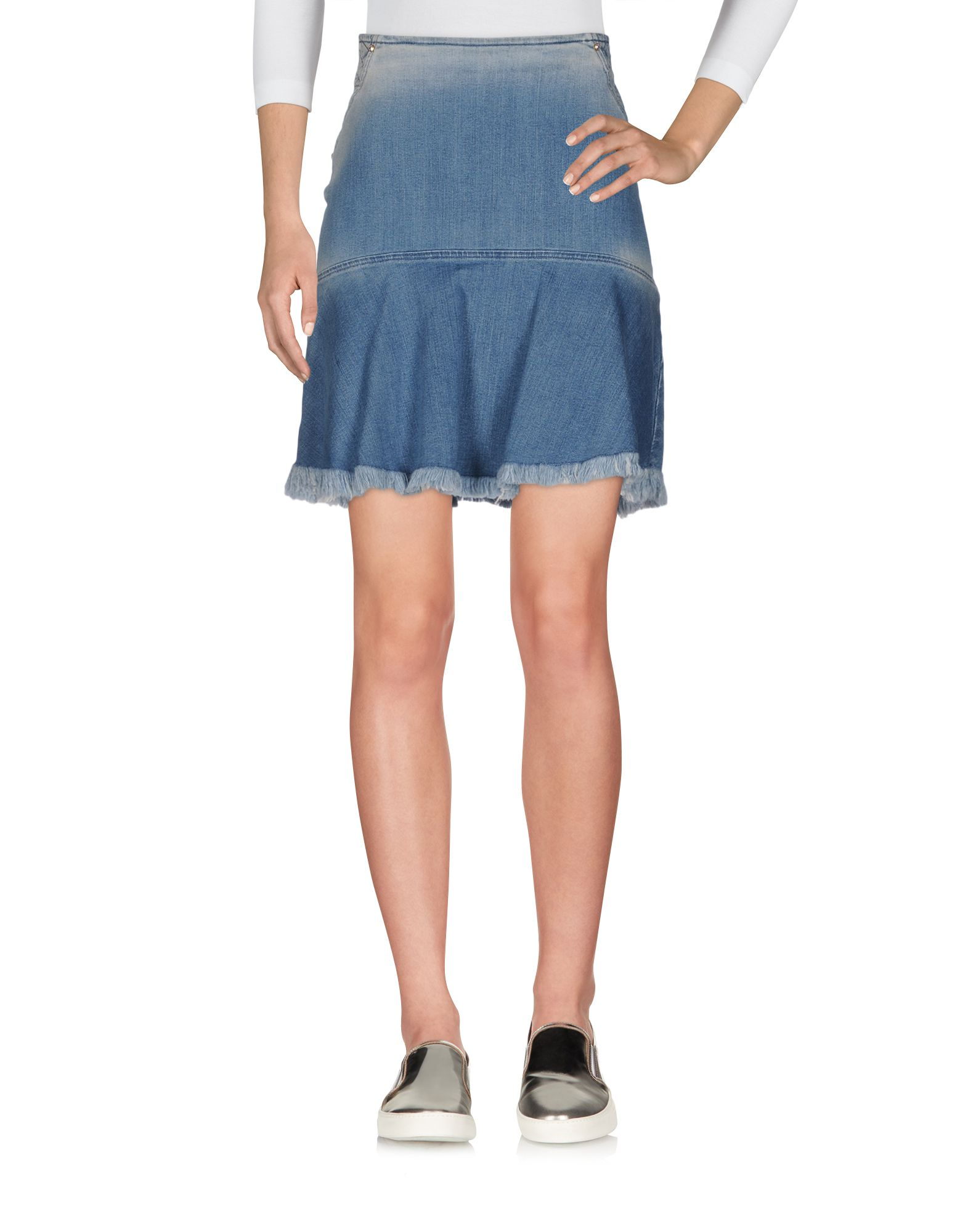 где купить 22 MAGGIO by MARIA GRAZIA SEVERI Джинсовая юбка по лучшей цене