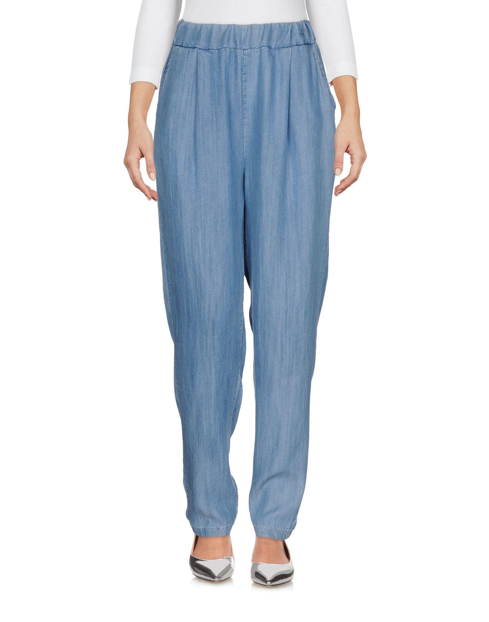 ANDREA MORANDO Джинсовые брюки футболка с длинным рукавом для мальчика nike dry element цвет черный 921144 010 размер xl 158 170
