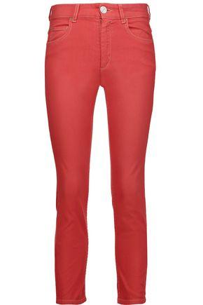 ISABEL MARANT ÉTOILE Nahia mid-rise cropped straight-leg jeans