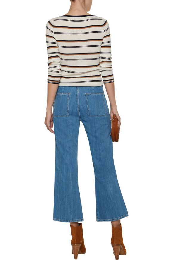Arrow high-rise cropped flared jeans | M.I.H JEANS | Sale up to 70% off |  THE OUTNET