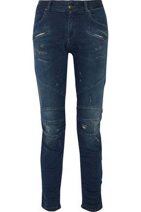 PIERRE BALMAIN Mid-rise slim-leg jeans