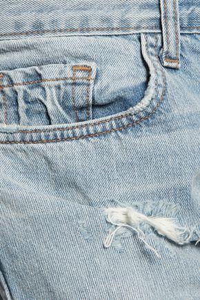 J BRAND Sonny distressed boyfriend jeans