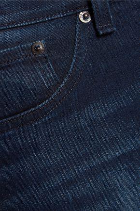 RAG & BONE High-rise distressed skinny jeans