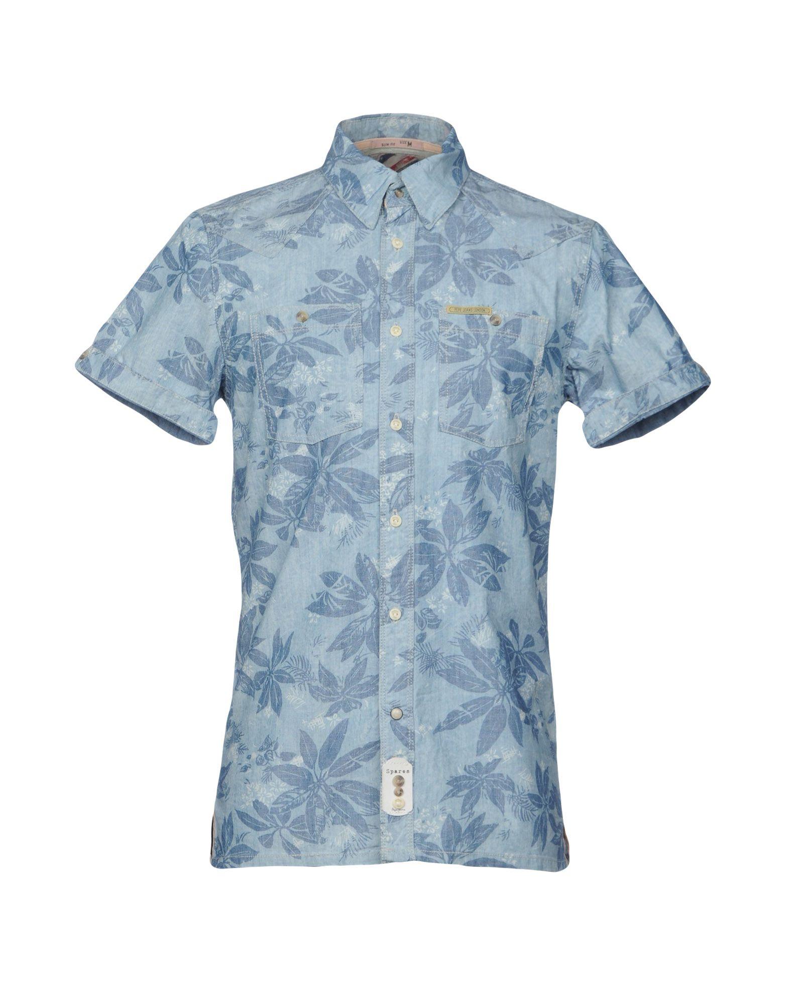 PEPE JEANS Джинсовая рубашка недорго, оригинальная цена