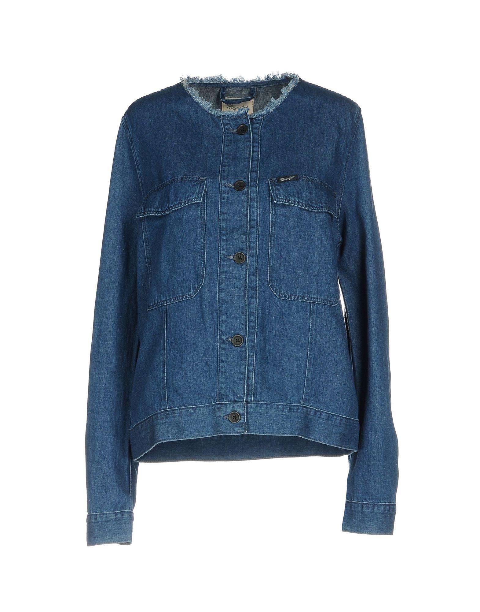 WRANGLER Джинсовая верхняя одежда colmar джинсовая верхняя одежда