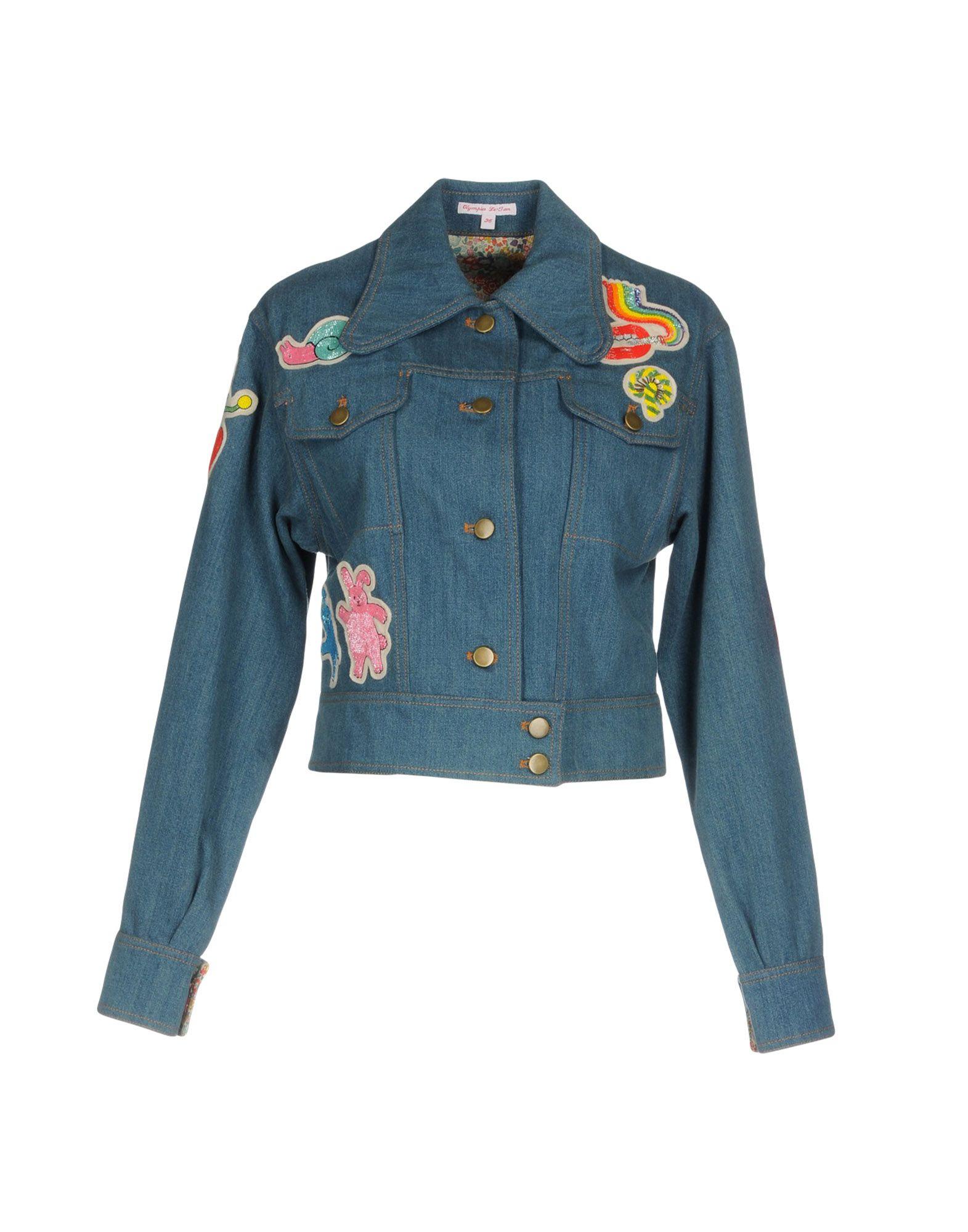 цена на OLYMPIA LE-TAN Джинсовая верхняя одежда