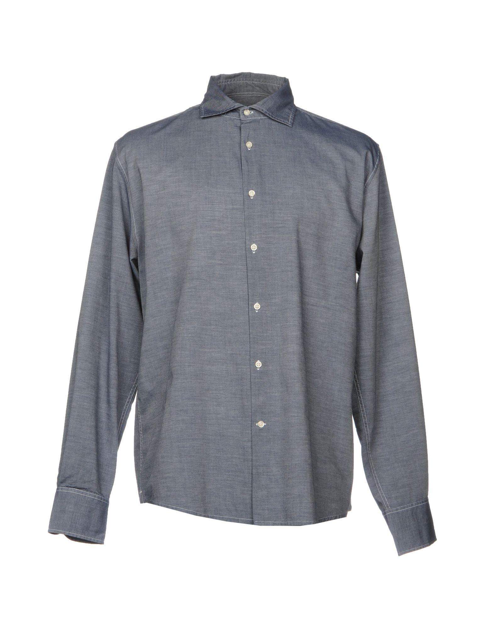 цена DEPERLU Джинсовая рубашка онлайн в 2017 году