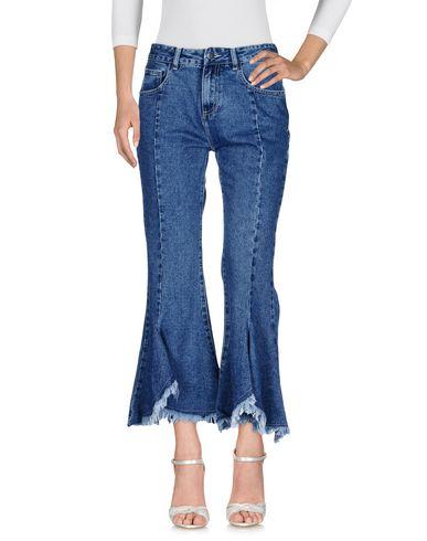 Фото - Джинсовые брюки от ODÌ ODÌ синего цвета