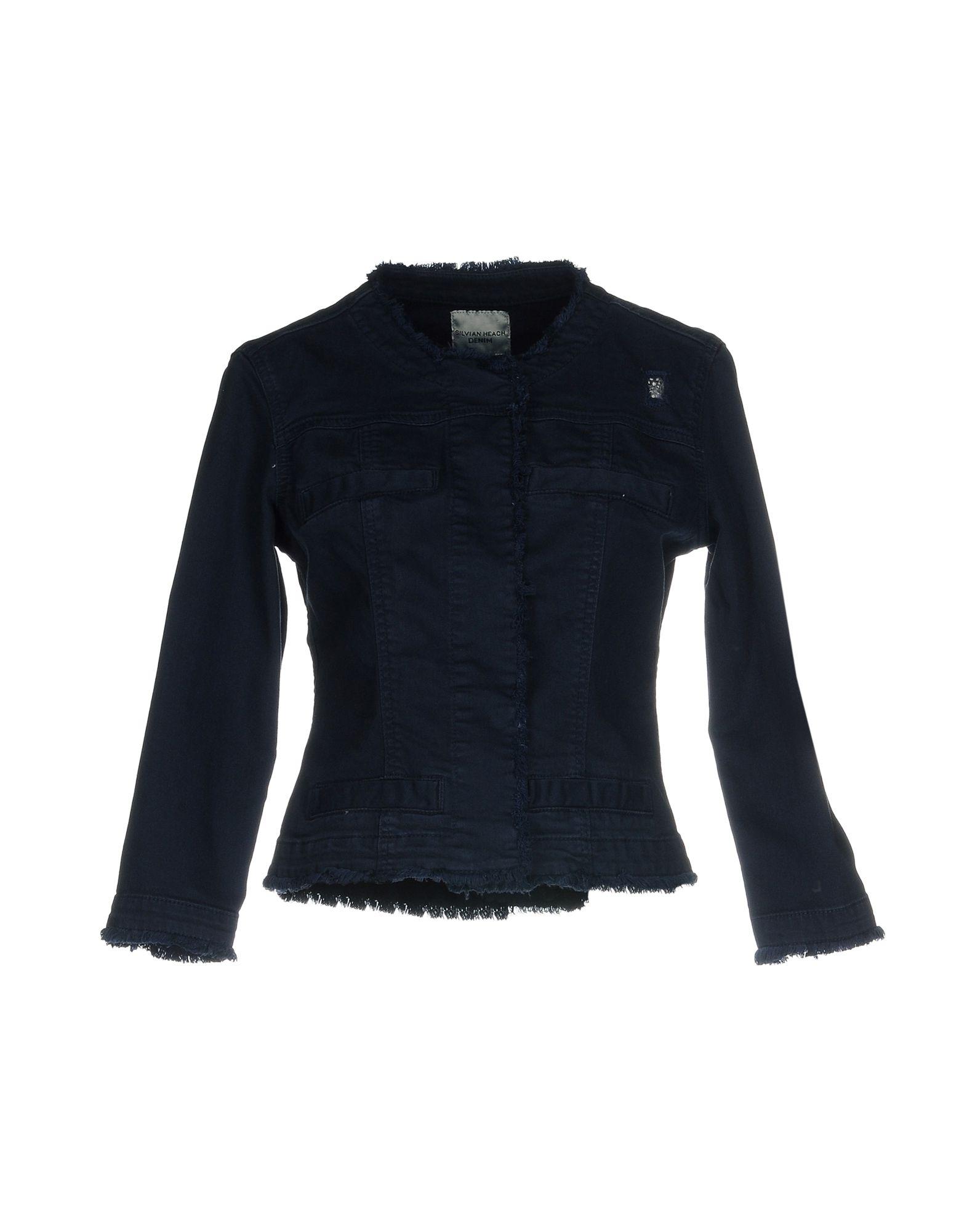 SILVIAN HEACH Джинсовая верхняя одежда colmar джинсовая верхняя одежда
