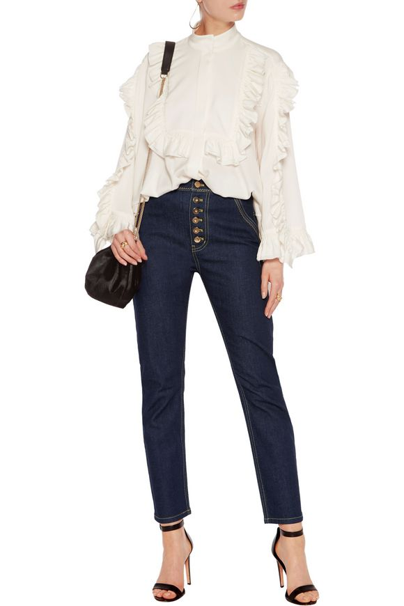 Monroe high-rise straight-leg jeans | ELLERY | Sale up to 70% off | THE  OUTNET