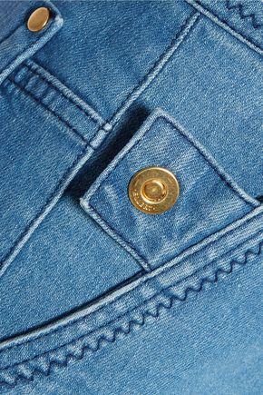 ELLERY Cordova high-rise straight-leg jeans