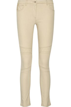 BELSTAFF Byrds mid-rise embroidered skinny jeans