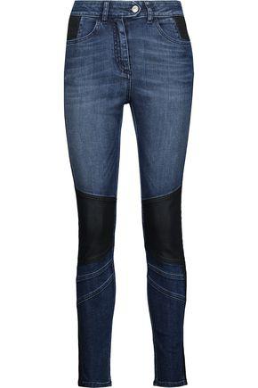 BELSTAFF Asha mid-rise paneled skinny jeans