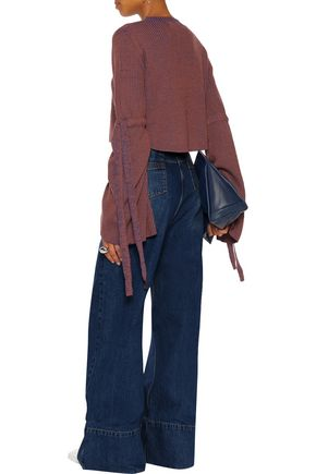•ELLERY• Xylophone high-rise wide-leg jeans
