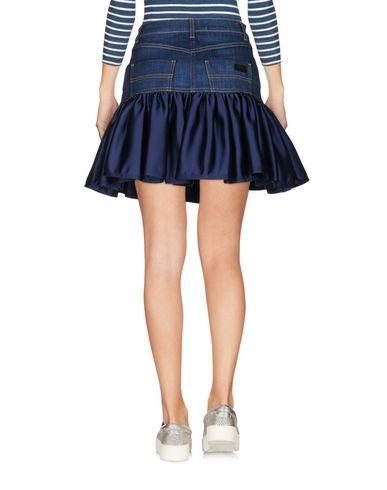 Фото 2 - Джинсовая юбка от ELISABETTA FRANCHI JEANS синего цвета