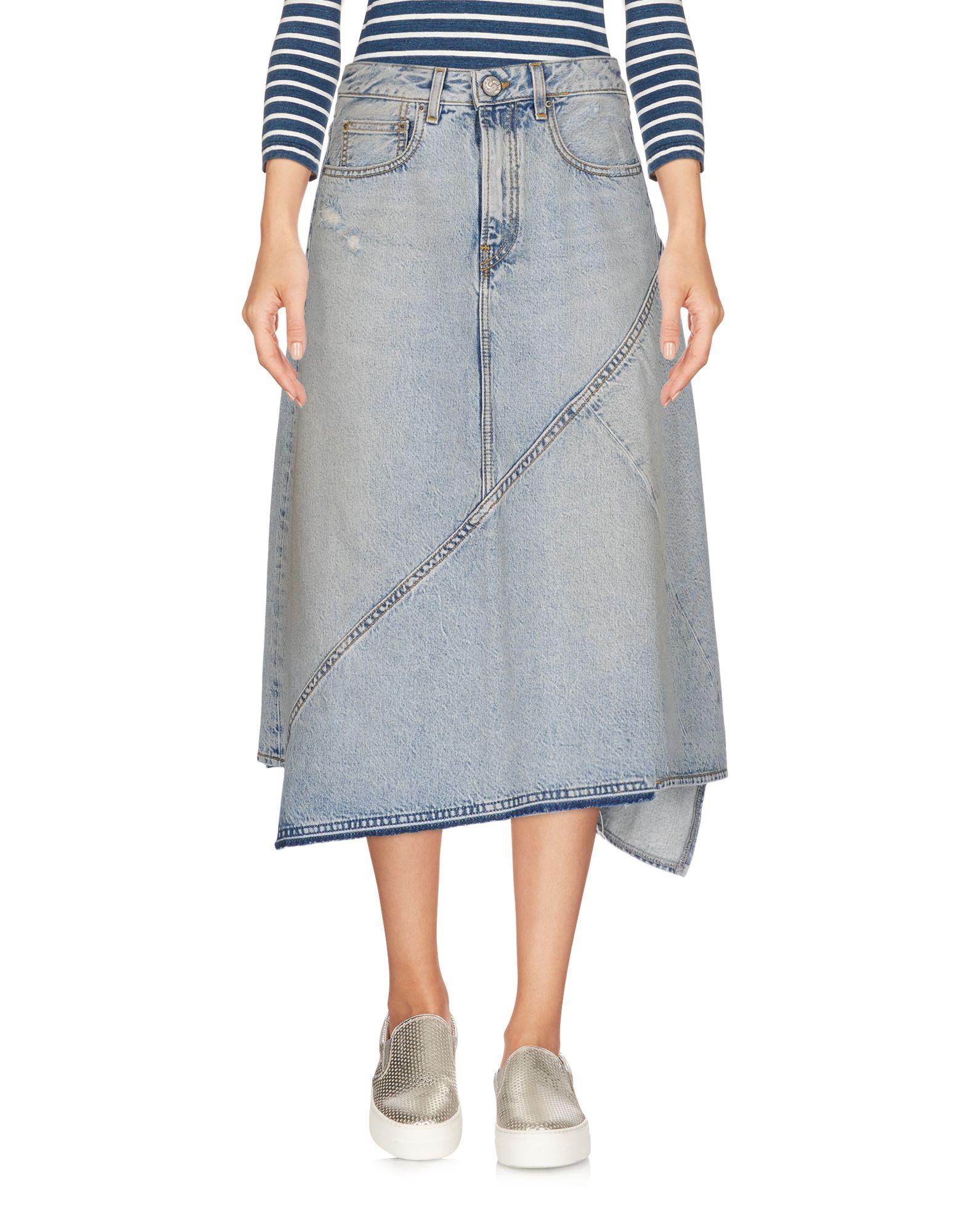 ONEDRESS ONELOVE Джинсовая юбка onedress onelove джинсовая верхняя одежда