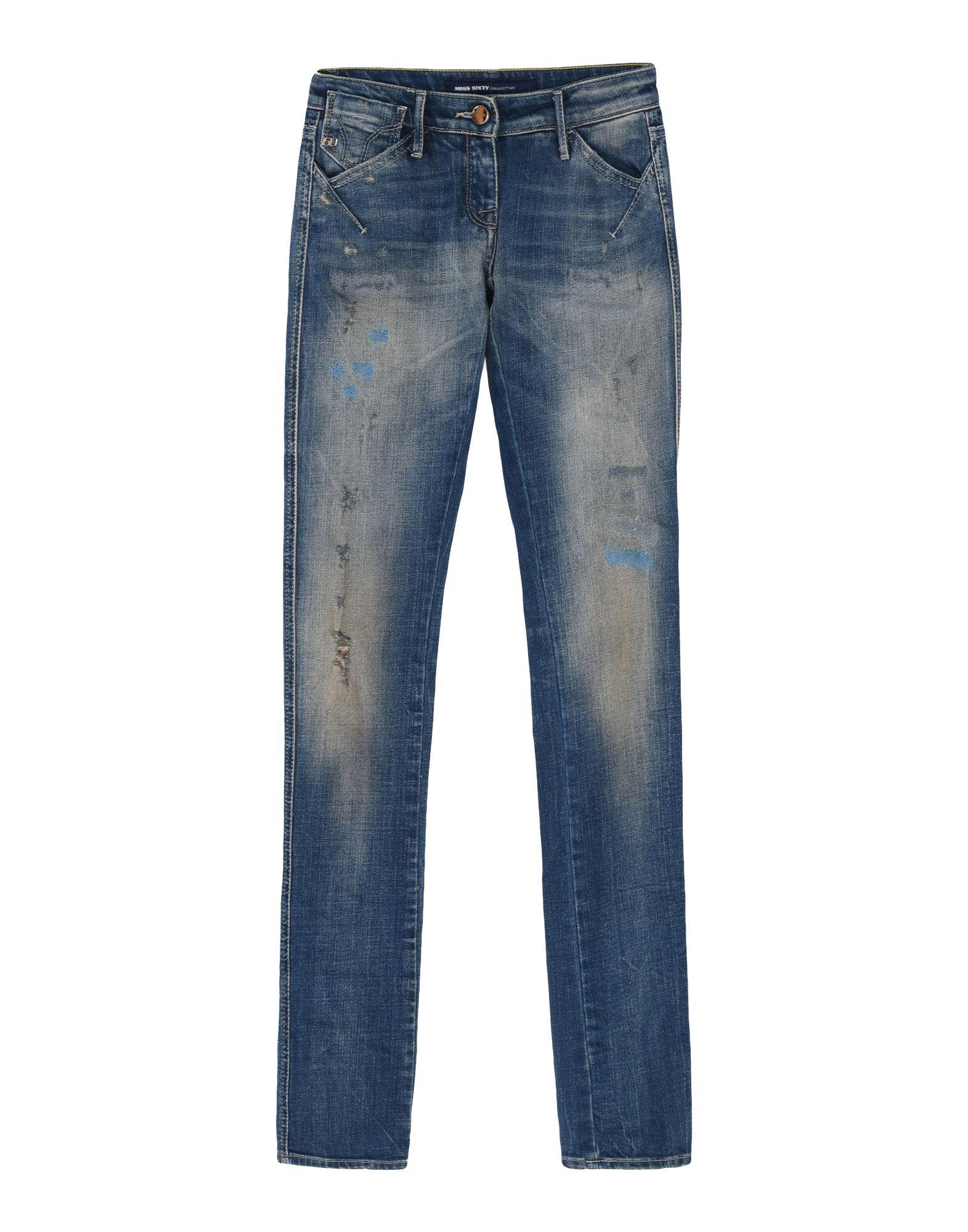 MISS SIXTY Джинсовые брюки сапоги miss sixty сапоги высокие