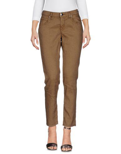 Купить Джинсовые брюки цвета хаки