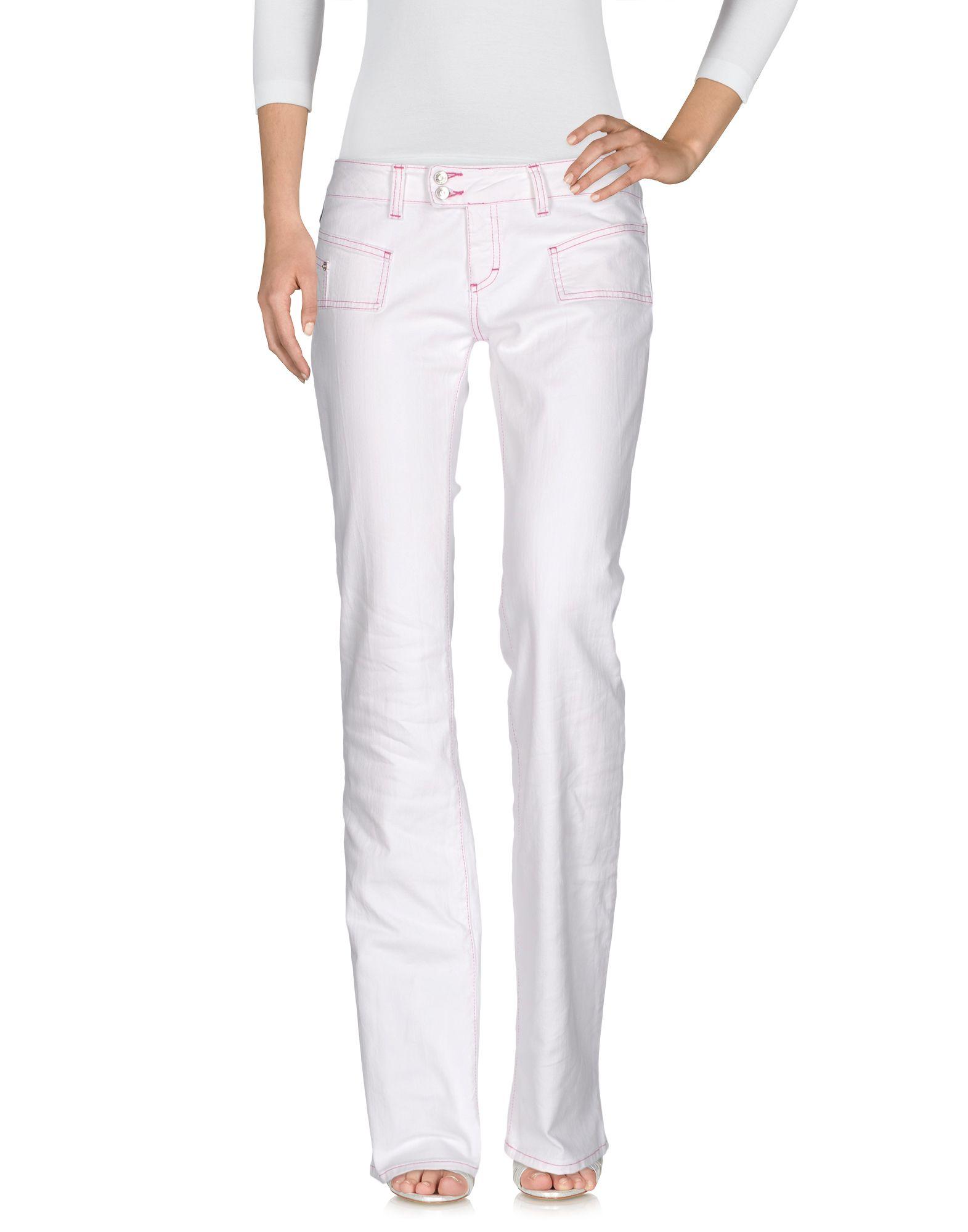 где купить VERSACE JEANS COUTURE Джинсовые брюки по лучшей цене