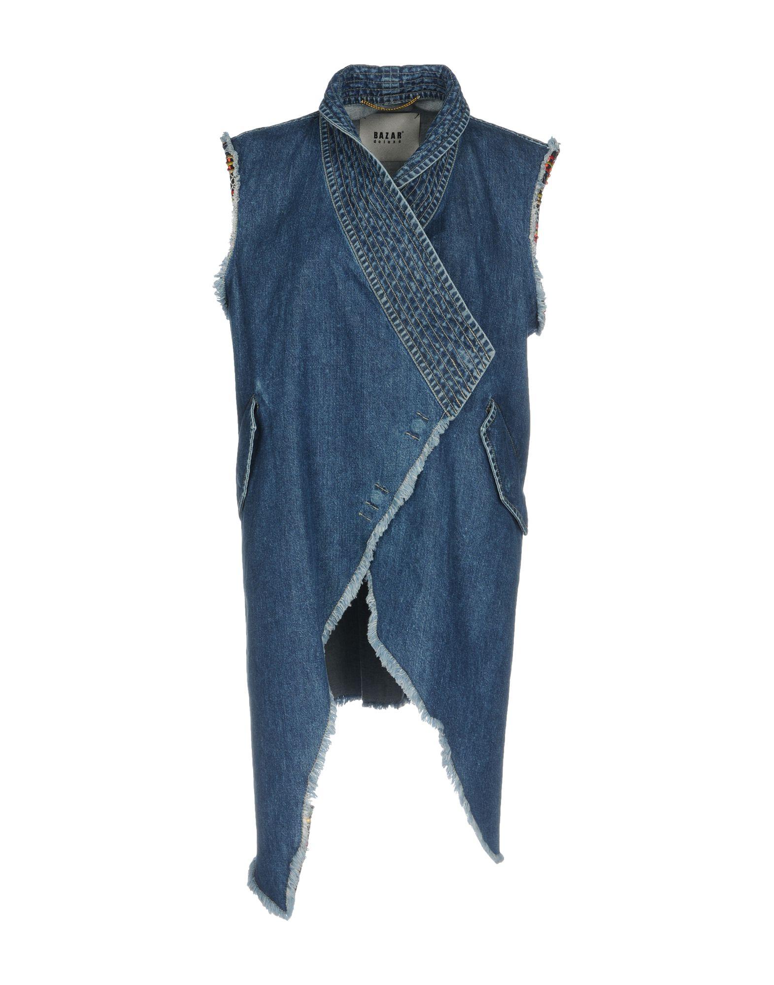 BAZAR DELUXE Джинсовая верхняя одежда верхняя одежда