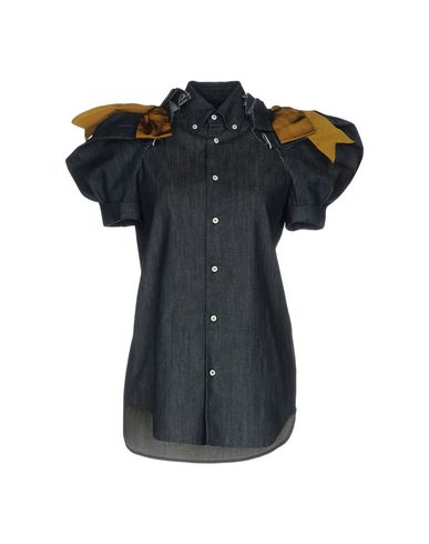 Джинсовая рубашка размер 40, 44 цвет синий