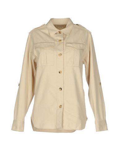 Купить Pубашка от ISABEL MARANT ÉTOILE бежевого цвета