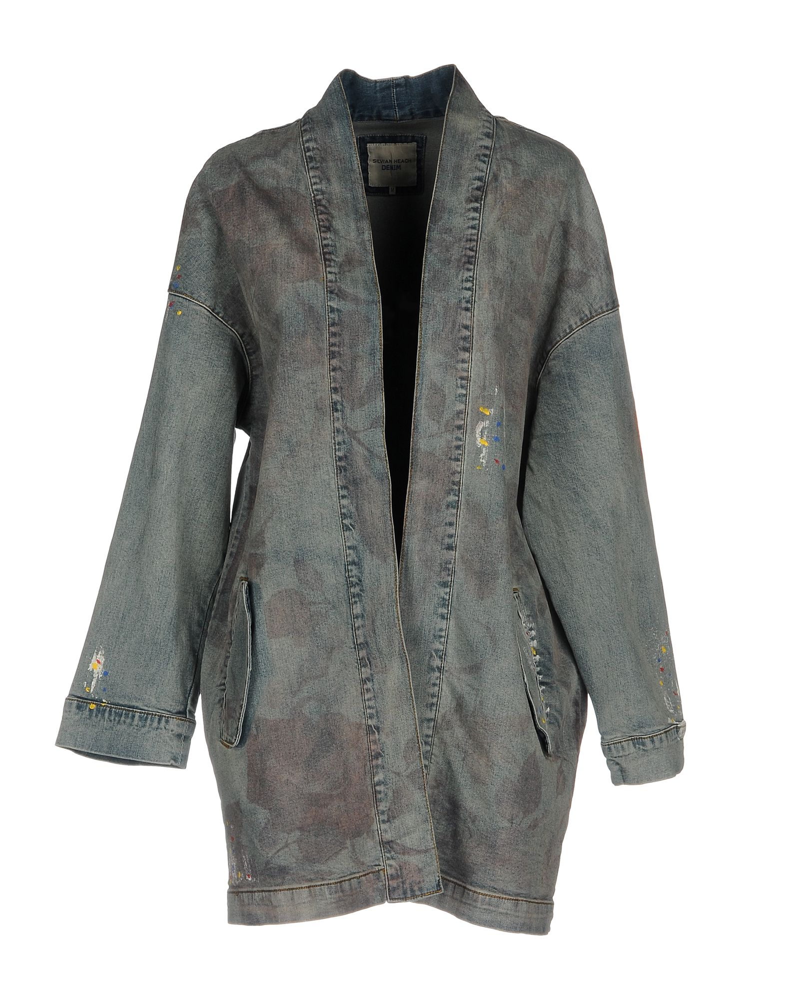 SILVIAN HEACH Джинсовая верхняя одежда silvian heach джинсовая верхняя одежда