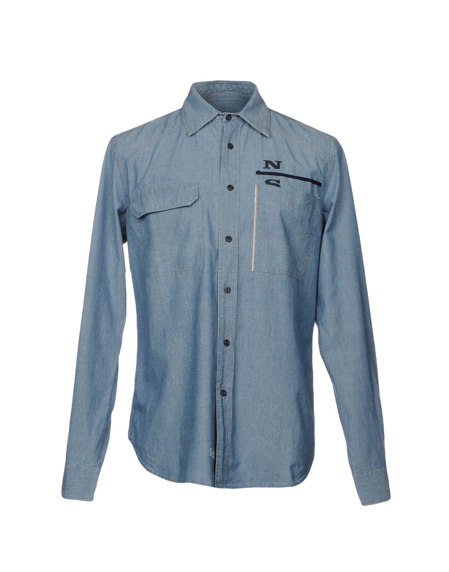 цены NORTH SAILS Джинсовая рубашка
