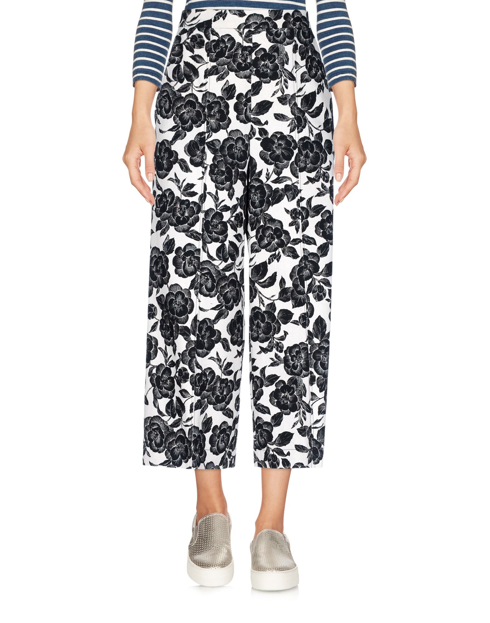 MSGM Джинсовые брюки-капри msgm джинсовые брюки