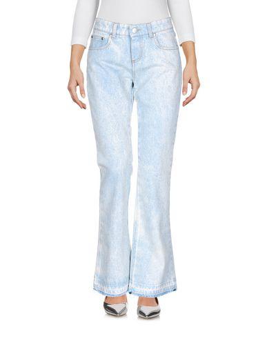 Фото - Джинсовые брюки от MSGM синего цвета