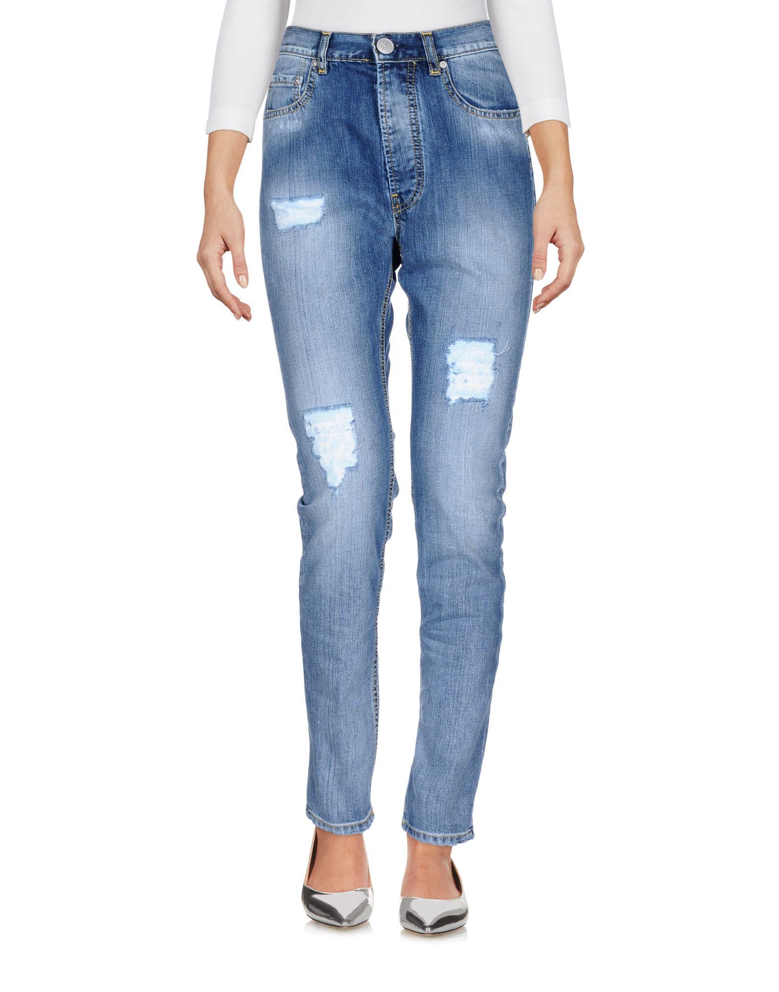 купить AN UPDATE Джинсовые брюки по цене 6500 рублей