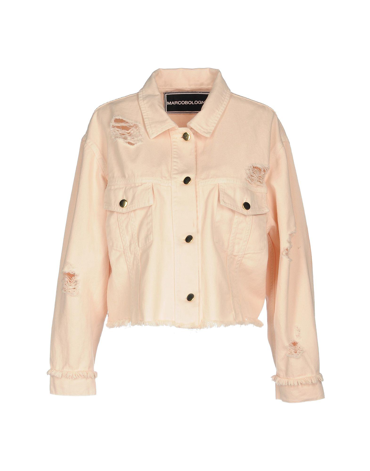 MARCO BOLOGNA Джинсовая верхняя одежда gian marco venturi одежда 81g01