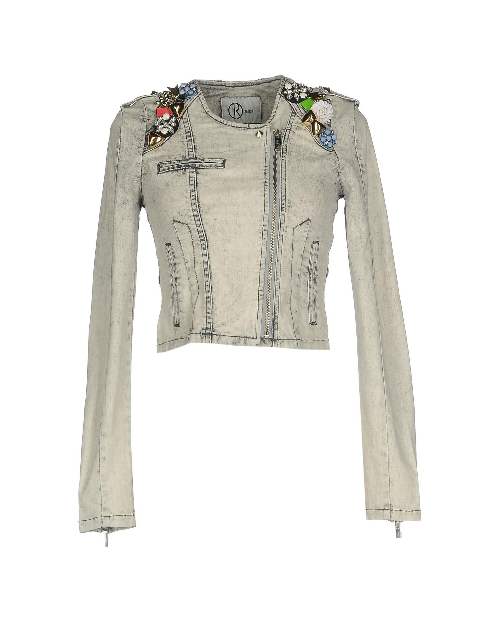 RELISH Джинсовая верхняя одежда relish джемпер relish rdp602439001 1200