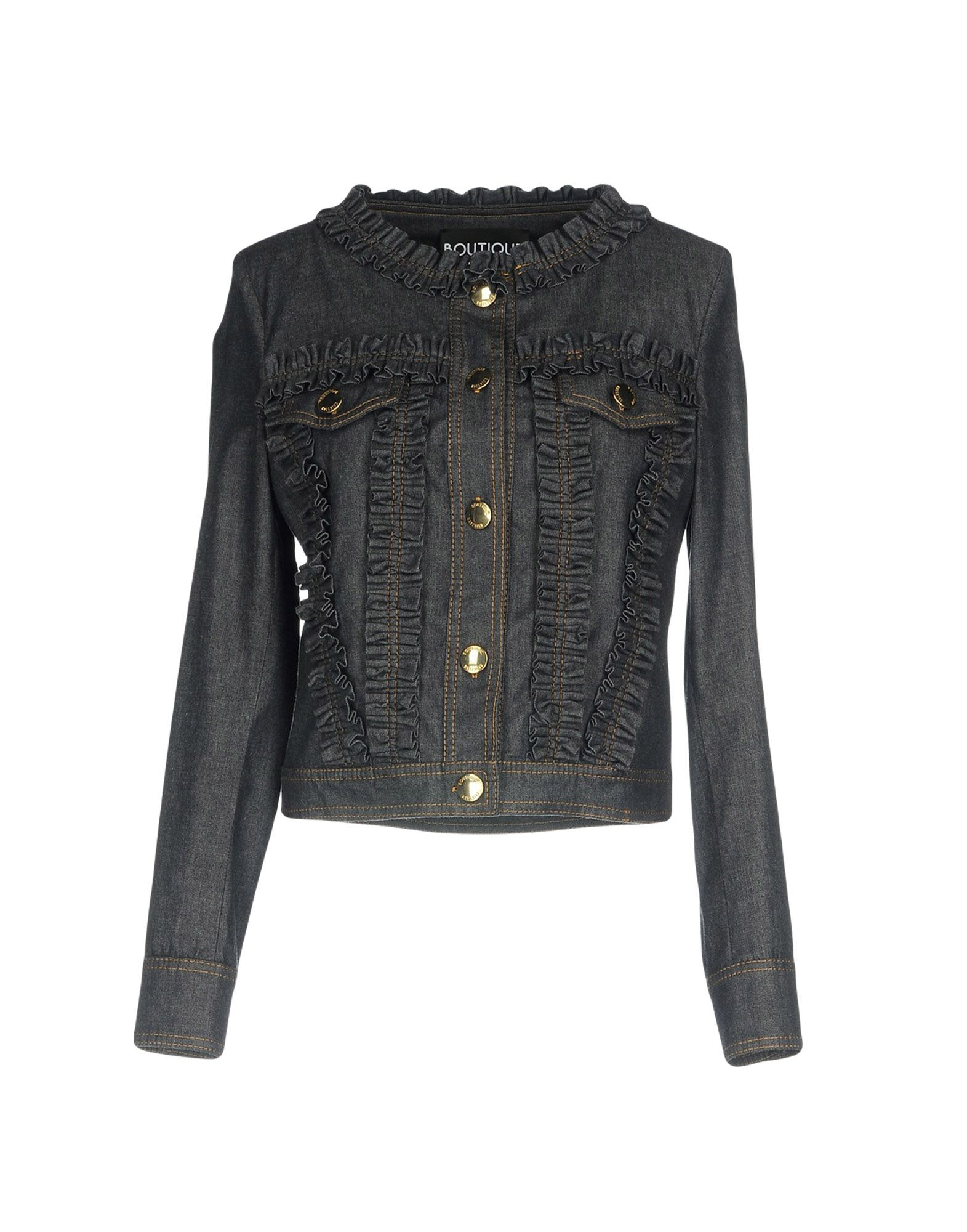 BOUTIQUE MOSCHINO Джинсовая верхняя одежда boutique moschino джинсовая верхняя одежда