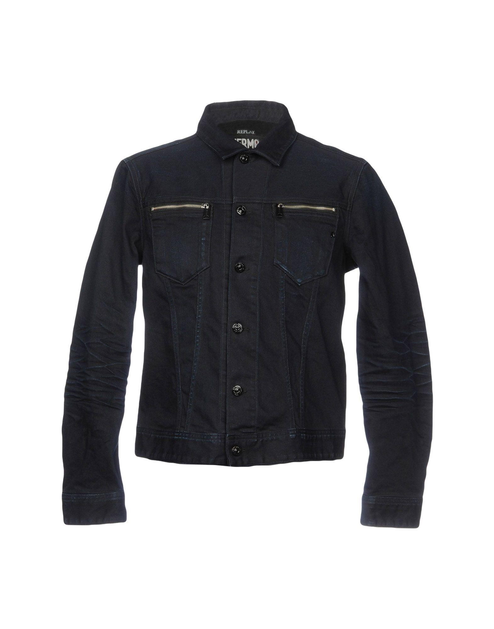 REPLAY Джинсовая верхняя одежда юбка джинсовая replay replay re770ewkjl41