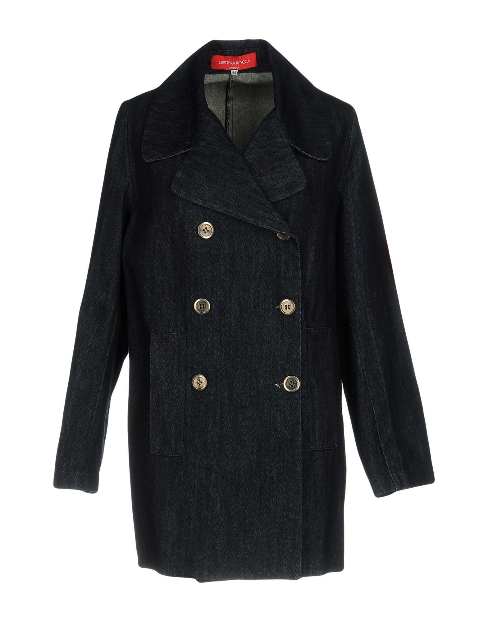 CRISTINA ROCCA Джинсовая верхняя одежда wood wood джинсовая верхняя одежда