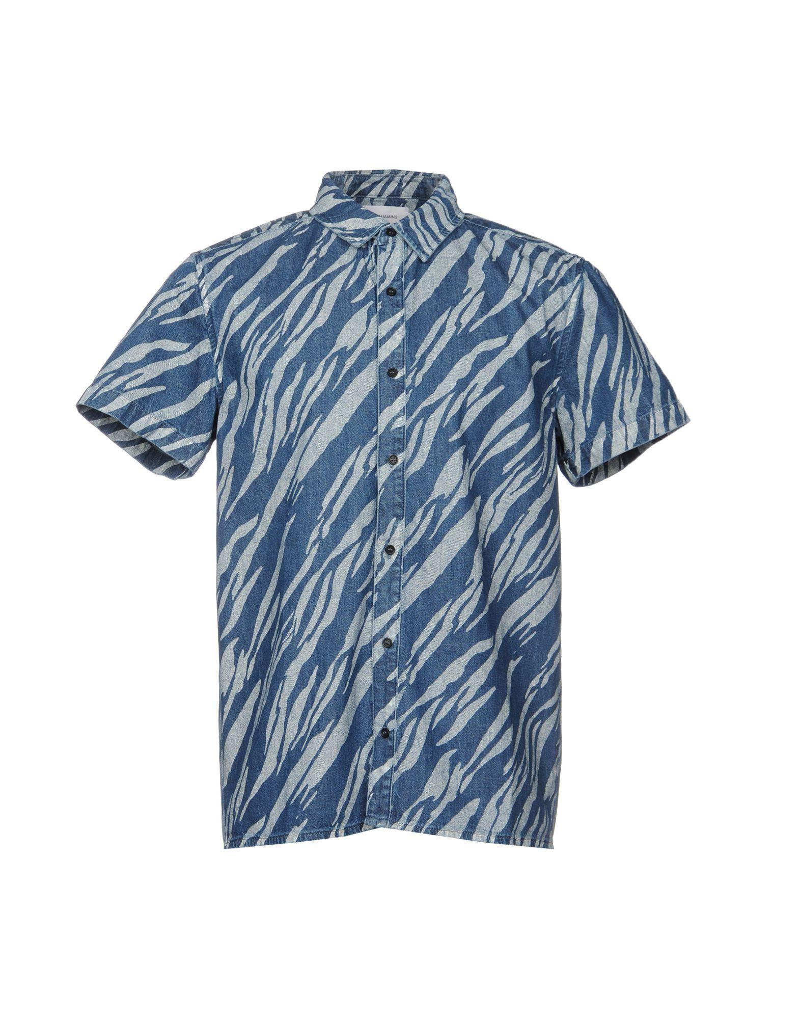 LES BENJAMINS Джинсовая рубашка цена 2017