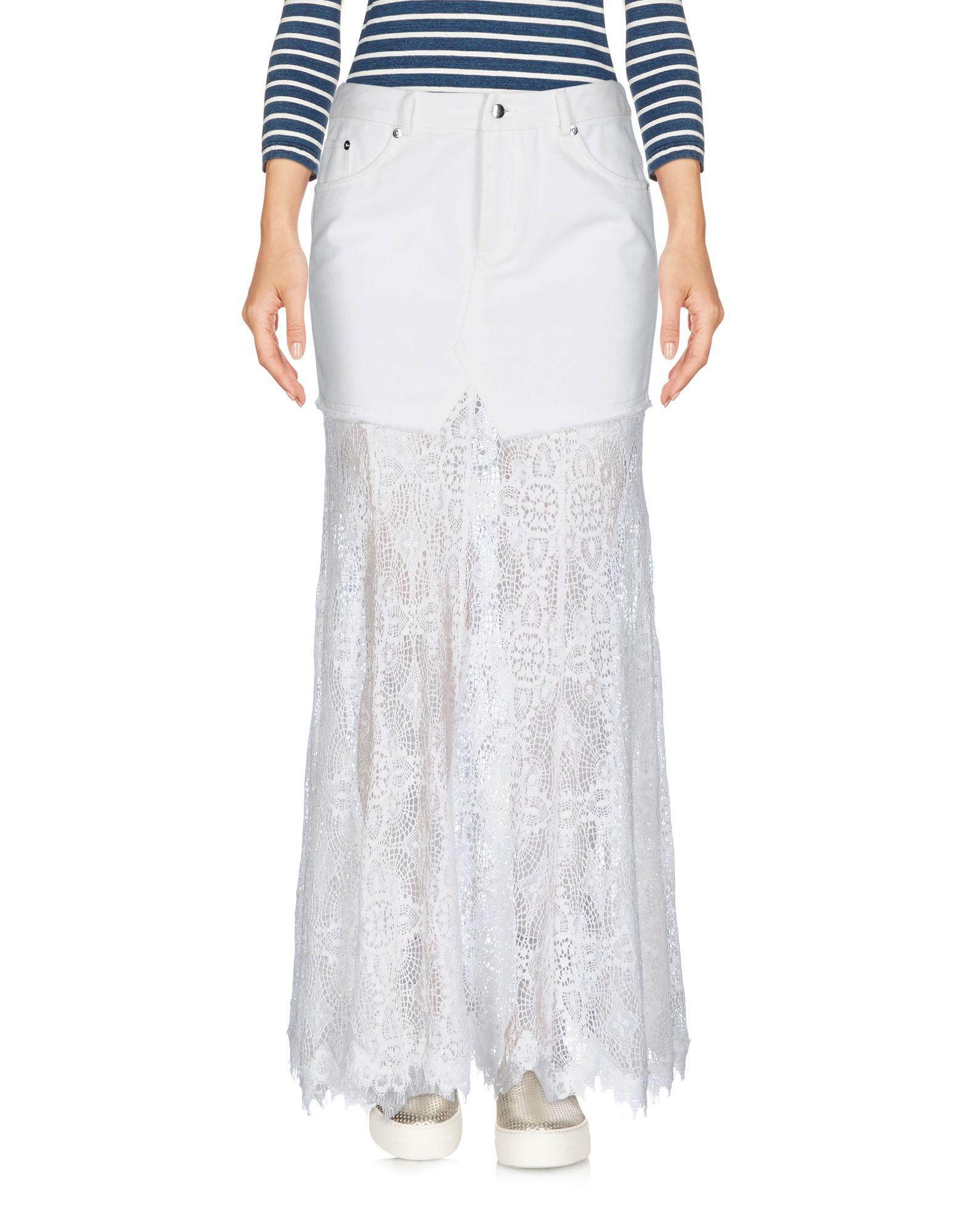 McQ Alexander McQueen Джинсовая юбка topshop джинсовая юбка