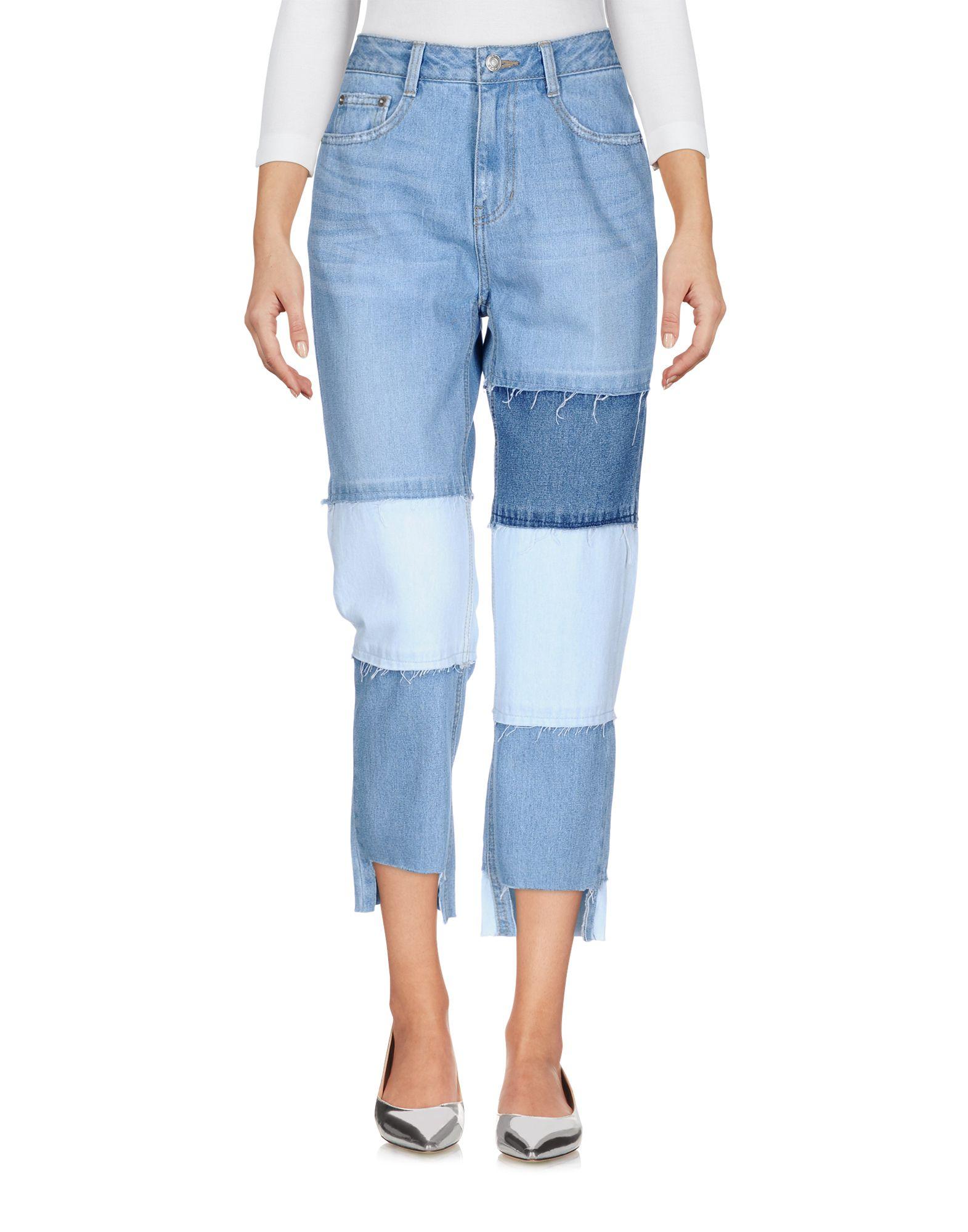 купить SJYP Джинсовые брюки по цене 14000 рублей