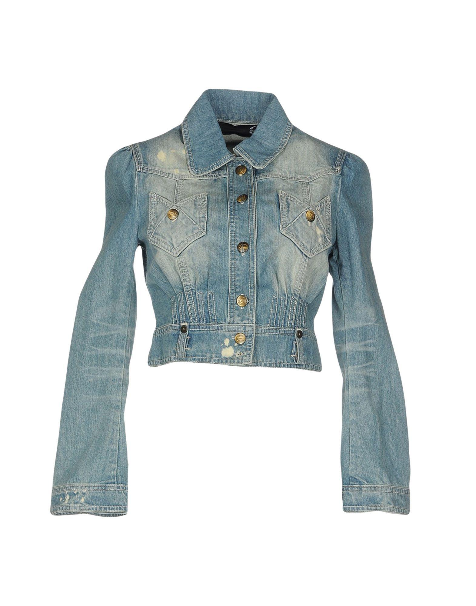JUST CAVALLI Джинсовая верхняя одежда just cavalli джинсовая верхняя одежда