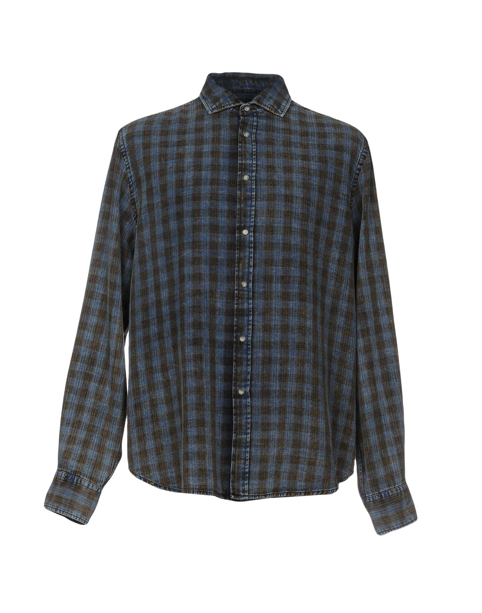 TRUSSARDI JEANS Джинсовая рубашка
